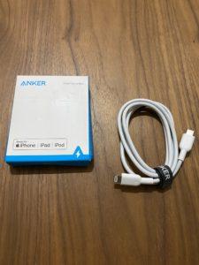 USB-C & Lightningケーブル