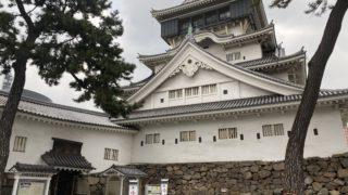 小倉城入り口