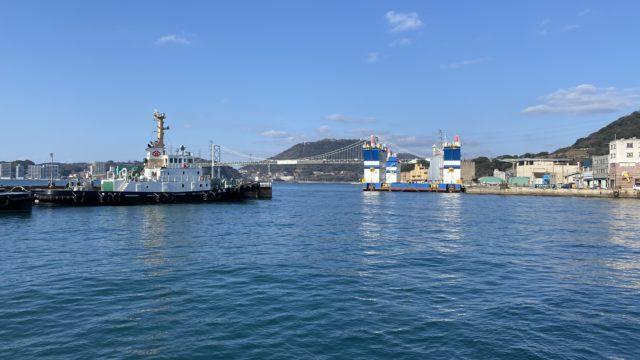 門司港からの眺め