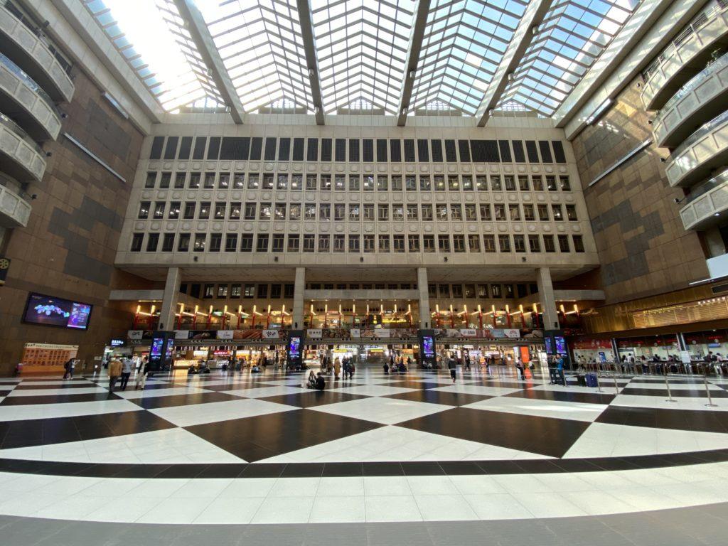 台北駅のホール