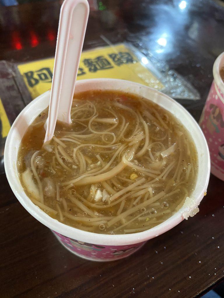 阿亮麺線の麺線